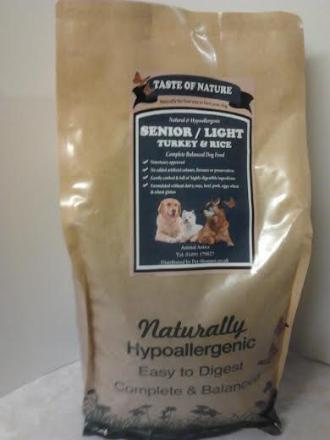 Taste of Nature Senior Dog Food 2kg