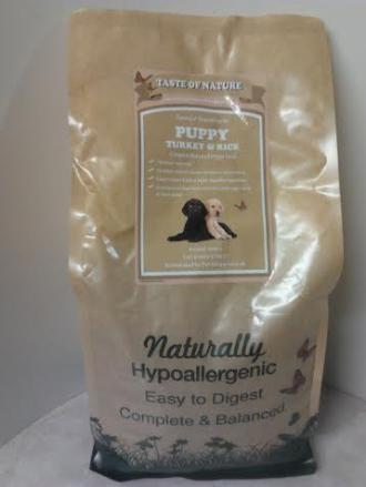 Taste of Nature Puppy Food 2kg