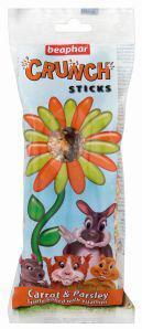 Beaphar Crunch Sticks Carrot & Parsley pack of 2