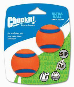 Chuckit Ultra Ball 2 Pack Small 4.8cm
