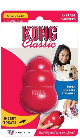 Kong Red Small Dog Toy