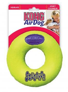 KONG Air Squeaker Donut Medium