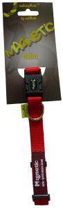Magnetic Dog Collar Red 45 - 65cm