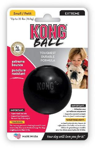 KONG Extreme Ball Black Small