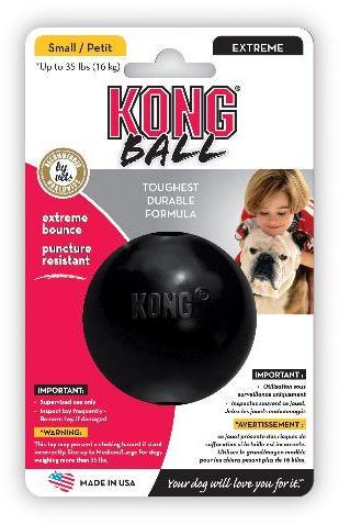 KONG Extreme Ball Black Small