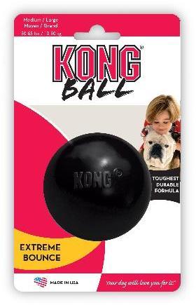 KONG Extreme Ball Black Large