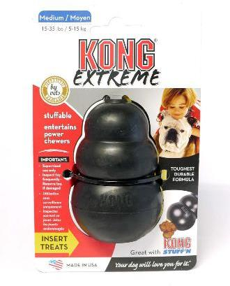 KONG Extreme Black Medium
