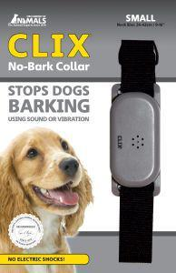 Clix No Bark Dog Collar Small