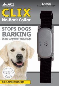 Clix No Bark Dog Collar Large