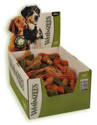 Whimzees Toothbrush Dog Treats Medium 110mm Box of 75