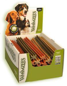 Whimzees Ex Large Eurostars Dog Treats 24cm Box of 30