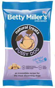 Betty Millers Gluten Free Treats for Fussy Dogs 100g