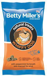 Betty Millers Gluten Free Treats For Whiffy Dogs 100g