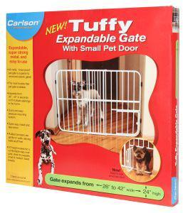 Carlson Tuff Expandable Dog Gate 66x107x61cm