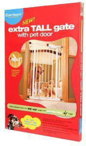 Carlson Extra Tall Expandable Dog Gate 74x102x104cm
