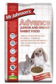 Mr Johnsons Advance Junior and Dwarf Rabbit Mix 1.5kg