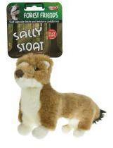 Animal Instincts Sally Stoat Plush Dog Toy Small
