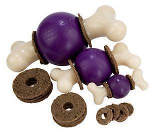 Busy Buddie Bouncy Bone Small Dog Toy