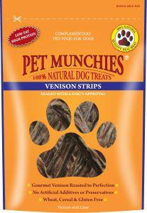 Pet Munchies Venison Dog Treats 8 for price of 7
