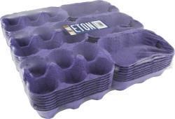 Egg Boxes Blue 24s