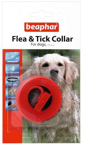 Beaphar Waterproof Dog Flea and Tick Collar