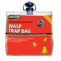 Pest Stop Wasp Trap Bag 20x6x22cm
