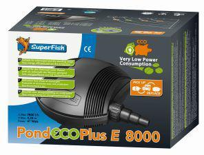 Superfish Pond Filter Eco Plus E 8000 41w 7800L/H