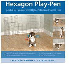 "Options Hexagon Play Pen 6 x 24"" Panels"