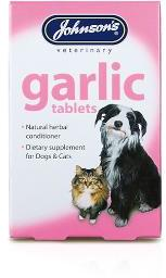Johnsons Garlic Tablets pack of 40