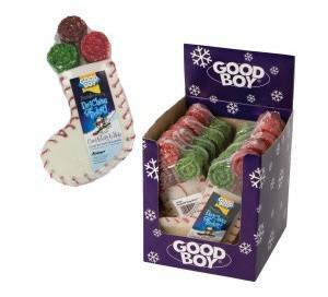 Christmas Dog Chew Stocking From Pet Shopper