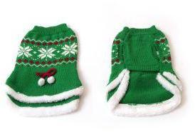 Green Tu Tu Snowflake Xmas Jumper 25cm