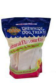 Bravo Natural Flavoured Hide Chips 227g