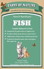 Taste of Nature Fish Cat Food