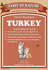 Taste of Nature Turkey Cat Food
