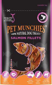 Pet Munchies Salmon Fillets 90g Dog Treats