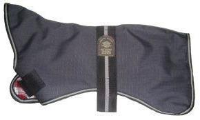 Outhwaite Greyhound Coat Padded Lining Grey 60cm