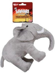 Animal Instincts On Safari Elephant Dog Toy