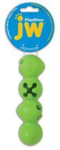 JW Playbites Caterpillar Medium Dog Treat Toy