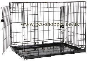 Animal Instincts Comfort Dog Crate 109x71x78cm Size 4