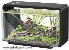 Superfish Home 25 Aquarium Black 25 Litre