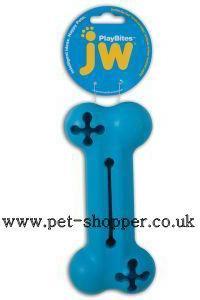 JW Playbites Bone Treat Dog Toy Large