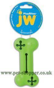JW Playbites Bone Treat Medium Dog Toy
