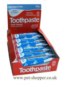 Hatchwell Dog and Cat Meat Flavour Toothpaste 45g