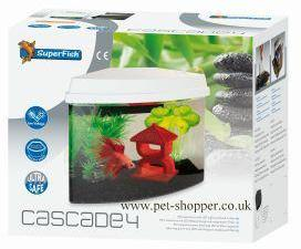 Superfish Cascade 4 Aquarium White 3.8Litre