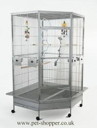 Liberta Raleigh Very Large Corner Parrot Cage