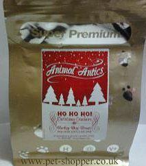 Animal Antics Christmas Turkey Dog Treats 225g