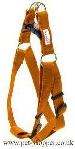 Doodlebone Nylon Harness Orange Large 50-75cm
