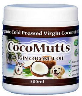 CocoMutts Organic Virgin Coconut Oil for Dogs