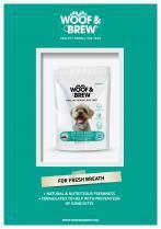Woof and Brew Fresh Breath Herbal Tea 28 Day