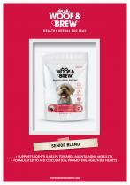 Woof and Brew Senior Herbal Tea 28 Day